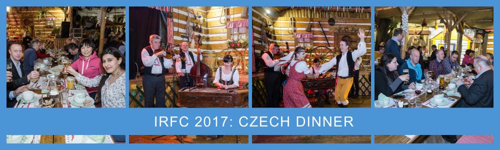 Czech dinner photos